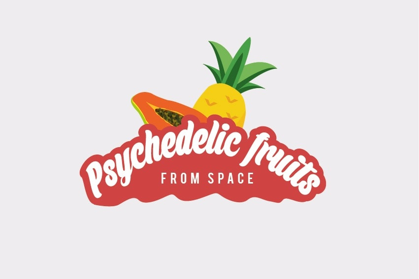 Logo Psychedelic fruits
